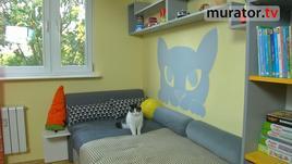 Pokój dziecka - malowanie szablonów