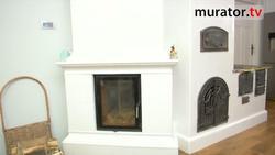 Dom ogrzewany... nowoczesnym piecem ceramicznym z kuchnią