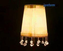 Lampa z kryształkami: jak zrobić