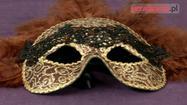Elegancka maska wenecka