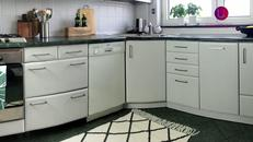 Malowanie mebli kuchennych: szybka metamorfoza kuchni