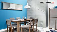 Kolory ścian - niebieski. Niebieskie ściany: wideo poradnik