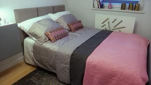 Metamorfoza łóżka do sypialni. Malowanie mebli. Montujemy zagłówek