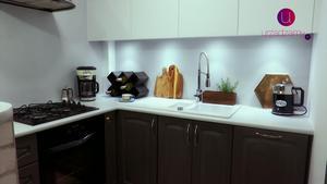 Odnawianie drewnianych szafek kuchennych. Malujemy farbami kredowymi