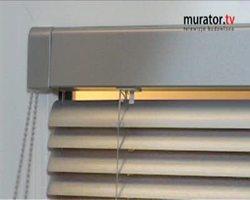 Montaż żaluzji okiennej: wideo instrukcja