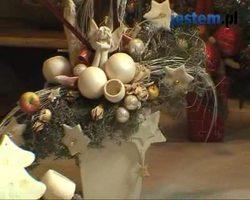 Świąteczny stroik z kwiatów ciętych: wideo