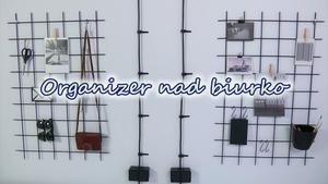 Organizer na ścianę: wideo. Zobacz jak zrobić!