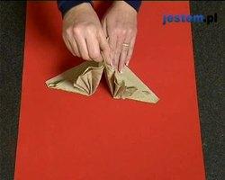 Składanie serwetek wachlarz: wideo