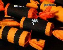 Opakowania na słodyczne: dekoracje na Halloween