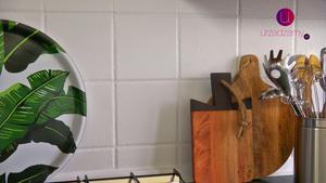 Malowanie płytek kuchennych: remont kuchni